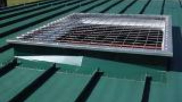 Curbs fasten roof accessories