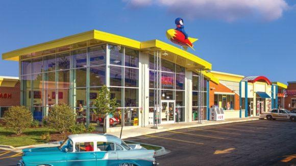 Ricky Rocket's Fuel Center, Hoffman Estates, Ill.