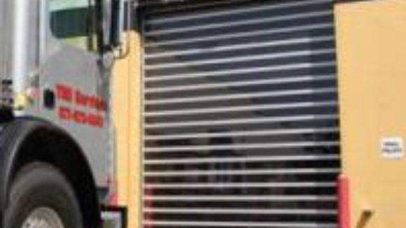 Door design dampens noise