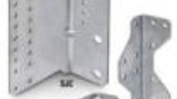 Manufacturer installs connectors for steel construction