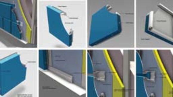 Southern Aluminum Finishing Co. Inc.'s Series M4000 rainscreen plate panel system