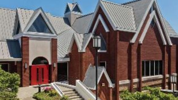 Congregation uses zinc to replace roof