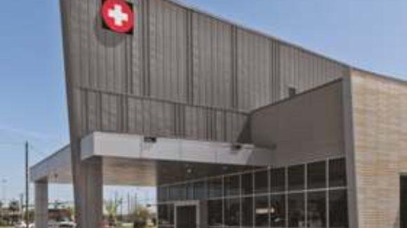 Medical facility charts zinc design