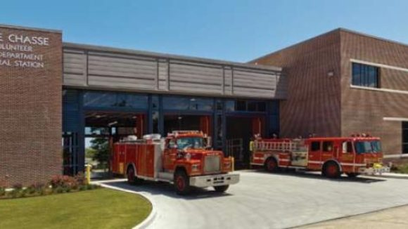 Belle Chasse Volunteer Fire Department's fire station, Belle Chasse, La.
