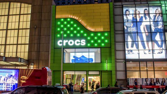 Crocs store, New York City