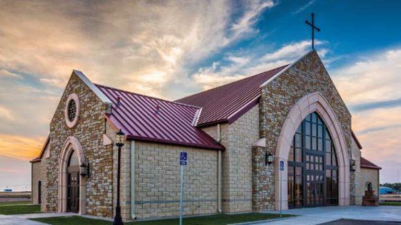 Immaculate Conception Catholic Church, Vega, Texas