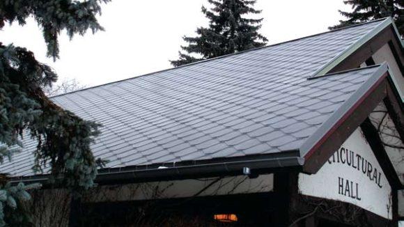 VMZINC Adeka roof shingles