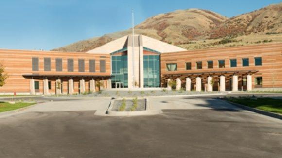 Utah State University's regional campus building, Brigham City, Utah