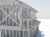 Alpine, a division of ITW Building Components Group Inc., offers TrusSteel, a roof and floor truss framing system that integrates symmetrical components, hardware and software.