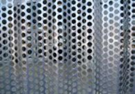 ATAS International's Gaten Series includes the features of metal wall panels with the addition of perforations.