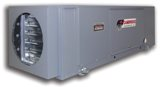 Cambridge Engineering's SA-350 space heater produces 350,000 British thermal units per hour.