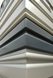 CENTRIA's Profile Series CASCADE Metal Panel System is available in nine new rainscreen panel profiles: CC-200, CC-210, CC-220, CC-610, CC-612, CC-613, CC-620, CC-623 and CC-630.