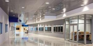 Chicago Metallic's SpanAir Hook-in and Hook-on Planks have large-scale concealed metal panels with clean lines, ceiling access, fast installation, durability and sustainability.