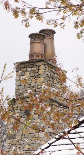 European Copper Chimney Pots Metal Construction News