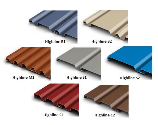 Petersen Aluminum, Highline Metal Wall Panels
