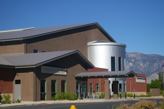 Tate Snyder Kimsey Architecture designed Douglas County Community and Senior Center with a metal roof, metal wall panels and metal soffit panels.