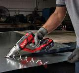 Milwaukee Electric Tool offers three M18 Metal Cutting Shears: the M18 Cordless 18-Gauge Double Cut Shear, M18 Cordless 14-Gauge Double Cut Shear and M18 Cordless 18-Gauge Single Cut Shear.