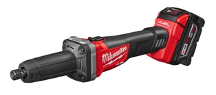 Milwaukee Electric Tool Corp.'s M18 FUEL 1/4-inch die grinder removes weld in tight spaces and on irregular surfaces.