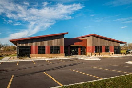 TJK Design Build Inc. designed a sales office in Wisconsin for Dublin-based Trane Inc. with a metal building system instead of conventional construction for its open-structure capability, construction flexibility and cost effectiveness.