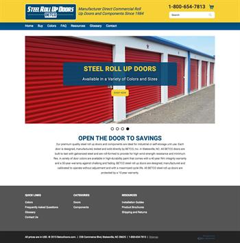 Betco Inc Launches New Steel Rollup Doors Metal